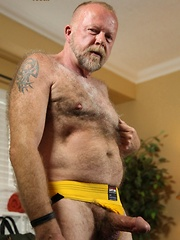 Jim Scott is one hairy bear that is always looking for hot and sweaty fuck