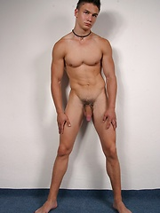 Str8 boy Arsen jackoff his fat euro dick