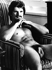 Vintage photo set of sexy daddy gay