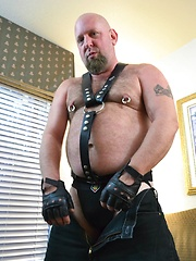 Big Daddy Bear Jack Stafford And Leather Lovin' Steve Sommers