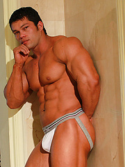 Beautiful muscle boystud Angel Cordoba has pretty hard butt