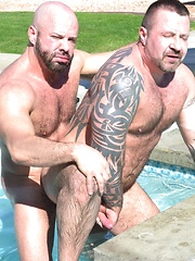 Beefy Daddy Marc Angelo Takes On Thick Hung Carlo Cox
