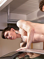Jimmy Clay and Jake Bass in one-on-one scene