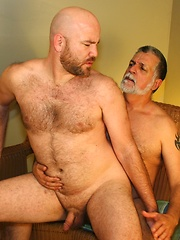 Sexy John Morewood and thick bearded Kroy Bama