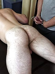 Hairy hunk Dirk Willis is back to older Jake Cruise for a rubdown