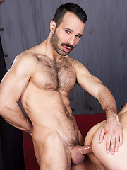 No one can resist dark and hairy Aybars his dashing moustache. Even butch Tomy is drawn willingly...