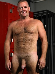 Bruce Mills is one sexy bear covered in hair