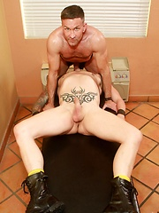 Matt Sizemore and Clark Longhammer are here to use their nice big cocks to fuck and cum
