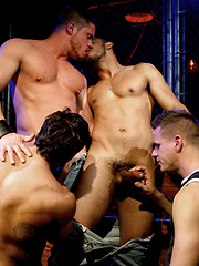 Ho gays groupsex in the boxing area